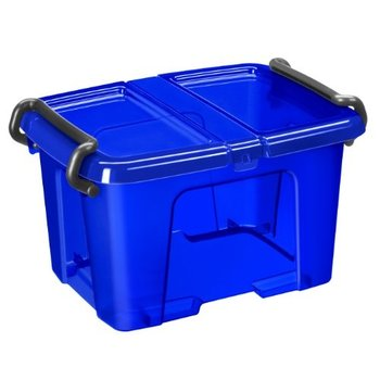 opbergbox happy 6L electric blue