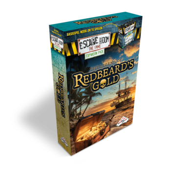 Identity Games Escape Room The Game: uitbreidingsset The Legend of Redbeard's Gold