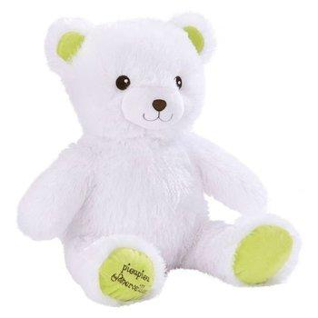 Witte beer Gaston (licht op) - 40cm
