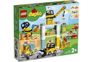 LEGO LEGO Duplo Torenkraan & Bouwterrein