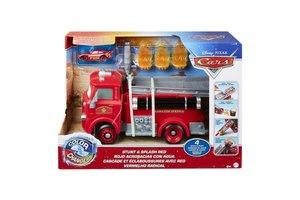 Mattel Disney Cars Color Changers - Brandweerwagen Stunt & Splash Red