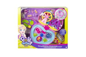 Mattel Polly Pocket Pollyville Anchor Item - Tiny is Mighty Theme Park Backpack