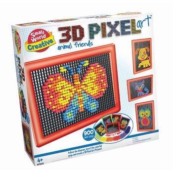 Small World 3D Pixel Art - Animal Friends