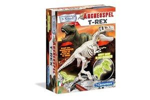 Clementoni Wetenschap & Spel - Archeospel T-Rex (Glow-in-the-Dark)