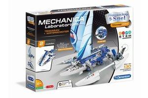 Clementoni Wetenschap & Spel - Mechanica Lab - Trimaran & Jetski