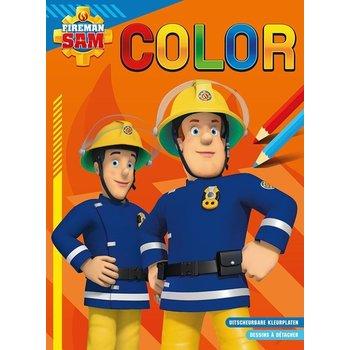 Deltas Brandweerman Sam - Color kleurblok