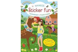 Deltas Manege Sticker Fun - Aankleedpoppen