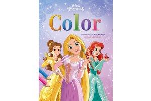 Deltas Disney Princess - Color kleurboek (uitscheurbare kleurplaten)