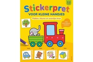 Deltas Stickerpret voor kleine handjes (2-4jaar)