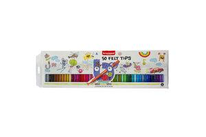 Bruynzeel Bruynzeel Kids - Viltstiften Etui - 50stuks