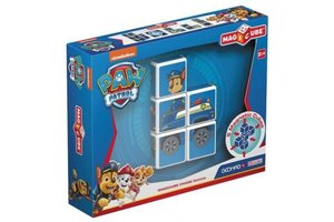 Geomag Geomag MagiCube - Paw Patrol Chase Police Truck (5-delig)