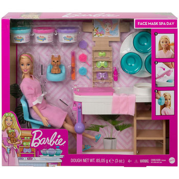 Mattel Barbie Face Mask Spa Day Playset