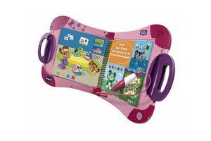 """VTech MagiBook (roze) + Activiteitenboek """"Een dag uit het dagelijks leven"""" (2+)"""