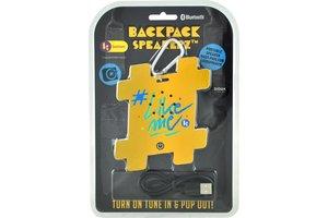 Didak Play #LikeMe - Muy Pop Backpack Speaker (geel)