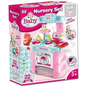 Babycommode met toebehoren - Verzorgingsset
