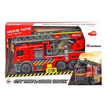 Citty fire ladder truck