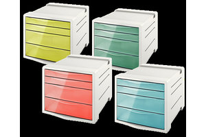 """Esselte Ladenblok """"Colour Ice"""" A4 - 4 laden"""
