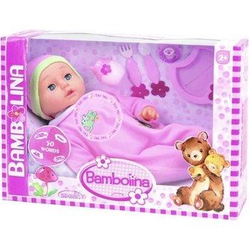 Babypop Sweet met 50 woordjes + accessoires - 46cm