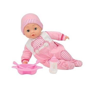 Babypop Camelia met 50 woordjes + accessoires - 40cm