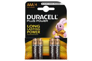 Duracell Plus Power AAA - 4stuks