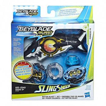 Hasbro Beyblade Burst Turbo SlingShock Riptide Blast Set - Forneus F4