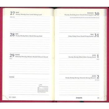 Agenda 2021 (Interplan COLORA) met weekoverzicht - assorti