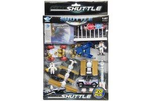 Metalen space set 4 - 2stuks
