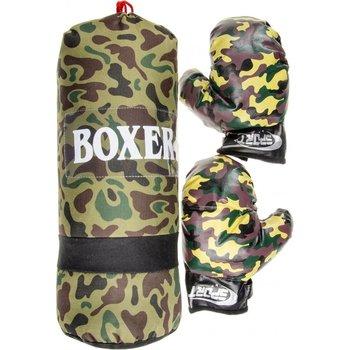Bokszak - militair/camouflage