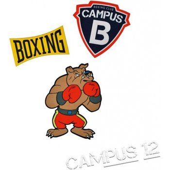 Campus 12 - Strijkpatches 4stuks