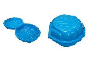 Paradiso Schelp MAXI (set van 2) zwembad/zandbak - blauw