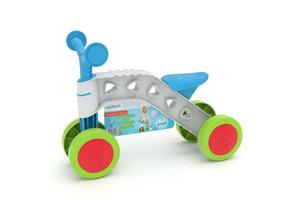 Chillafish ItsiBitsi Ride-On met 4 wielen - blauw/groen