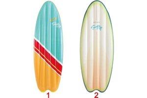Intex Luchtmatras (178x69x12cm) - SURF'S UP - 1 exemplaar