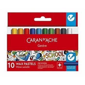 "Caran d'Ache Waskrijt ""School Line"" Aquarel - 10stuks in karton etui"