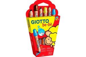 Canson Giotto be-bè Kleurpotloden Maxi - 6stuks