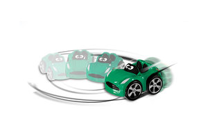 Chicco Stunt car Willy Miles groen
