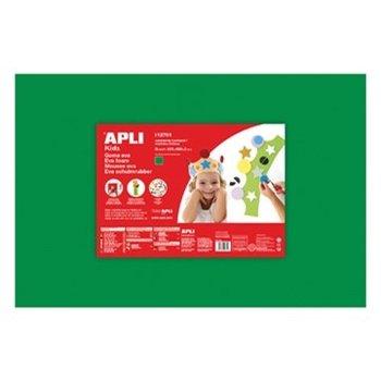 Apli Kids Schuimrubber 60x40cm (5 vellen) - donkergroen