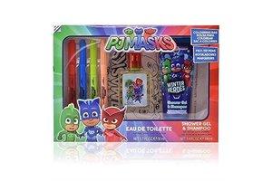PJ Masks - Geschenkset (EDT 50 ml + douchegel/shampoo 100ml + kleurentas)