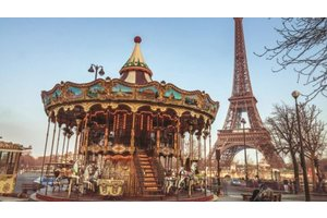 Jumbo Puzzel (1000stuks) - Premium Collection - Paris France