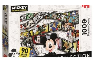 Jumbo Puzzel (1000stuks) Disney Classic Collection - Mickey 90th Anniversary