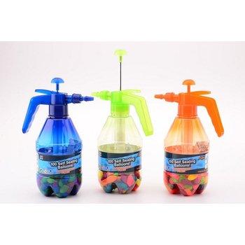 Aqua Fun Waterballonvuller met 100 zelfsluitende waterbommen