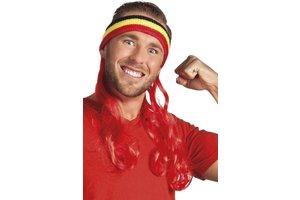Hoofdband België met rood haar