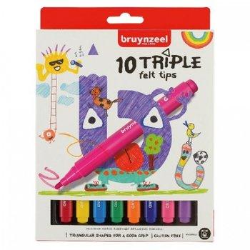 Talens Bruynzeel Kids Viltstiften Triple - 10stuks