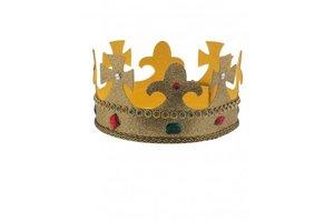 Kroon met glitter en edelstenen