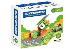 Clics Clicformers - Craft Set Groen 2-in-1 (25stuks)