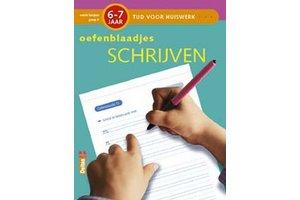 Deltas Tijd voor huiswerk - Oefenblaadjes schrijven (6-7jaar)