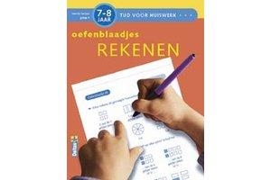 Deltas Tijd voor huiswerk - Oefenblaadjes rekenen (7-8jaar)