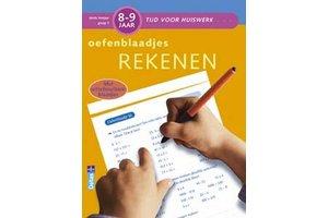 Deltas Tijd voor huiswerk - Oefenblaadjes rekenen (8-9jaar)