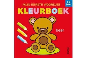 Deltas Mijn eerste woordjes kleurboek (1-3jaar)