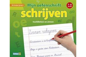Deltas Mijn oefenschrift schrijven (7-8jaar) 2de leerjaar/groep 4