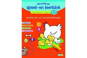 Deltas Reuzeleuk speel- en leerblok (4-5jaar) Tel- en schrijfoefeningen